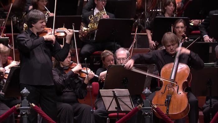 Brahms: Concerto for Violin, Cello and Orchestra